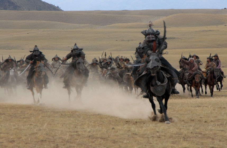 Charge mongole